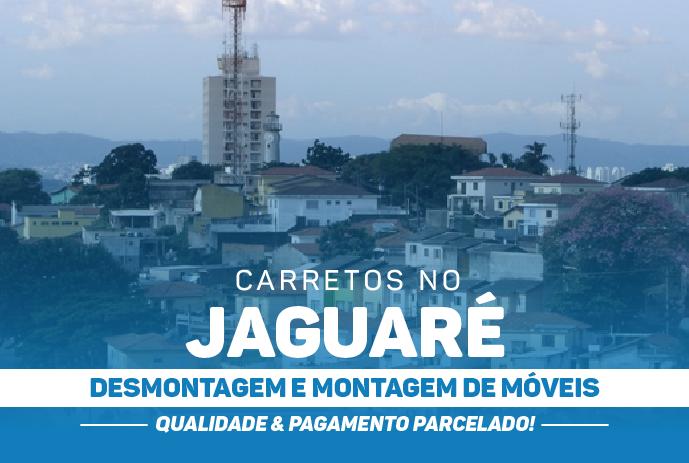 Transporte de mudança no Jaguaré