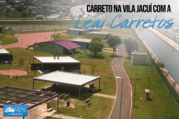 Carreto e mudança na Vila Jacuí