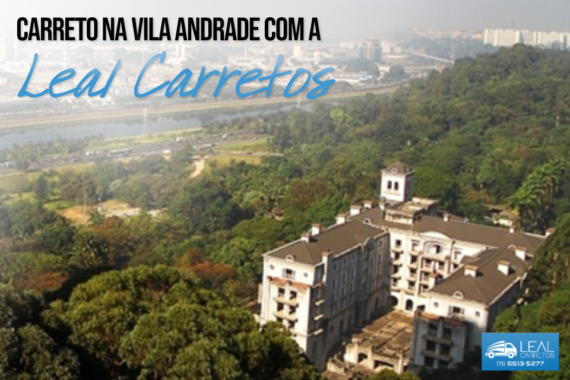 Carreto na Vila Andrade