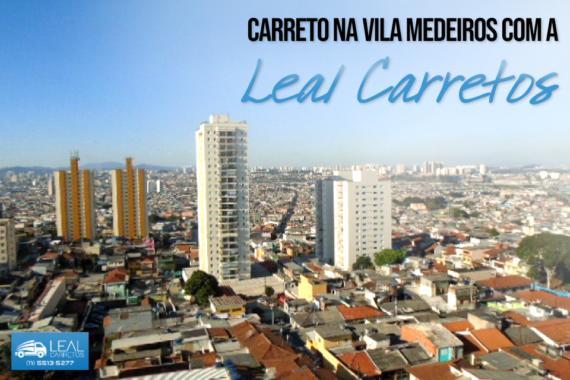 Carreto na Vila Medeiros