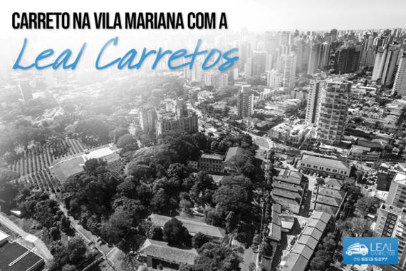 Carreto para mudança na Vila Mariana