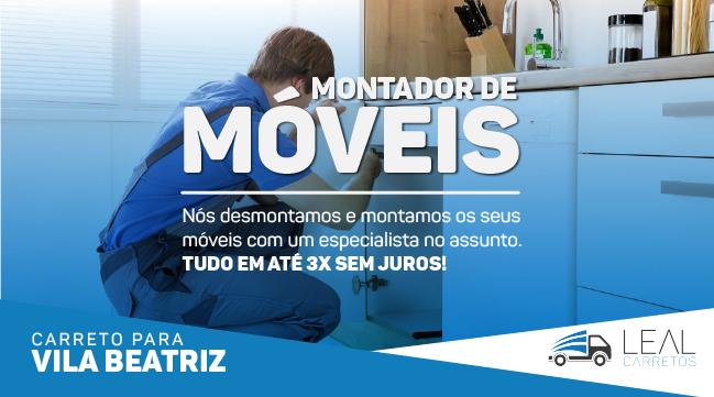 Carreto para mudança na Vila Beatriz