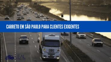Carreto em São Paulo