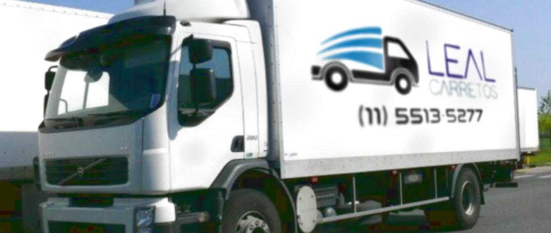 Mudança com caminhão baú